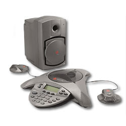 Polycom SoundStation VTX 1000 with EX Mics - Large Conference Room Phone