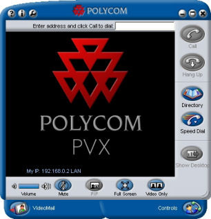 Polycom PVX v8.0 PC Conferencing Application