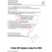 Polycom Software Option License for HDX Series