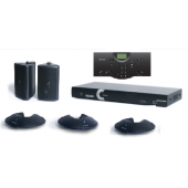 Clear One INTERACT AT Conferencing System - Three Pod / Wired Controller / Wall Mount Speaker System