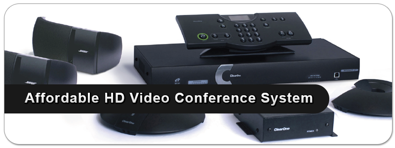 Clear One Room Video Conference System/  Affordable HD Video Conference System