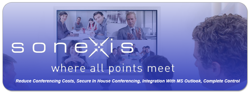 Reduce Conferencing Costs, Secure In House Conferencing, Integration With MS Outlook, Complete Control